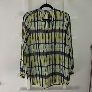VINCE CAMUTO TUNIC BLOUSE